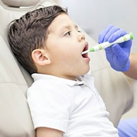 dental checkup child